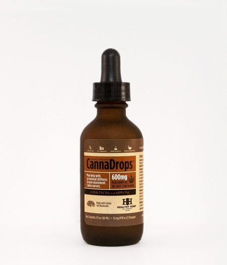 Healthy Hemp Pet Company CannaDrops Immune Supporter product photo