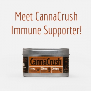 Meet CannaCrush Immune Supporter with Turkey Tail Mushroom