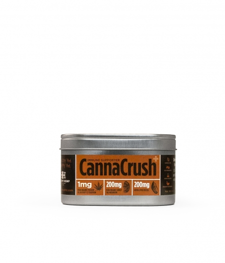 Healthy Hemp Pet Company CannaCrush Immune Supporter with Turkey Tail Mushroom