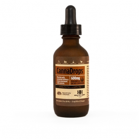 Healthy Hemp Pet Company CannaDrops Immune Supporter with Turkey Tail Mushroom